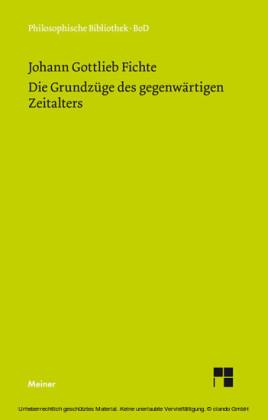 Die Grundzüge des gegenwärtigen Zeitalters (1806)