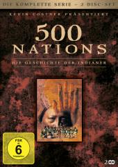 500 Nations: Die Geschichte der Indianer - Die komplette Serie, 2 DVDs Cover