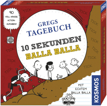Gregs Tagebuch, 10 Sekunden Balla Balla (Kinderspiel)