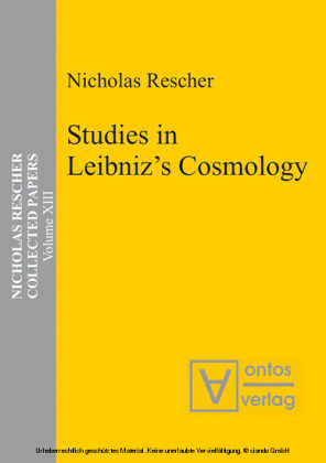 Studies in Leibniz's Cosmology