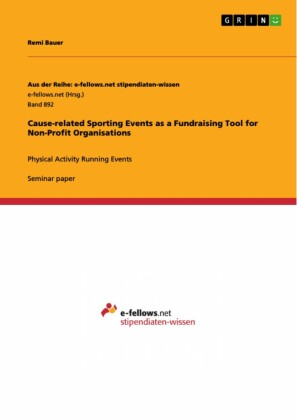 Cause-related Sporting Events as a Fundraising Tool for Non-Profit Organisations