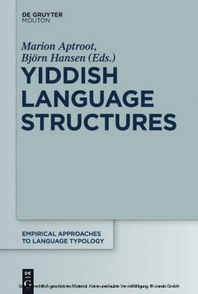 Yiddish Language Structures