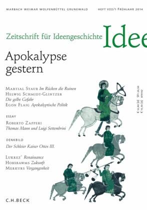Zeitschrift für Ideengeschichte Heft VIII/1 Frühjahr 2014