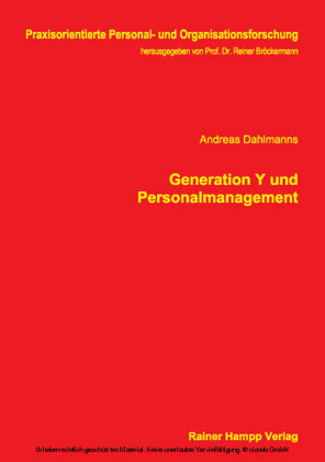 Generation Y und Personalmanagement