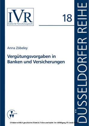Vergütungsvorgaben in Banken und Versicherungen