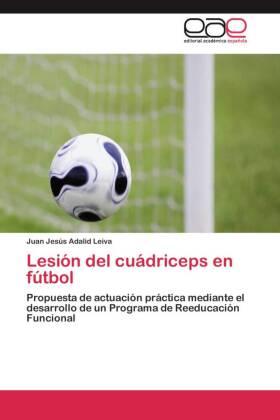 Lesión del cuádriceps en fútbol