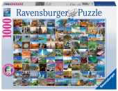 99 Beautiful Places on Earth (Puzzle) Cover