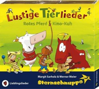 Lustige Tierlieder, 1 Audio-CD