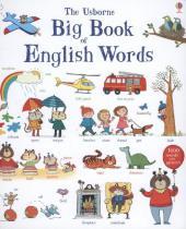 Usborne Big Book Of English Words Cover