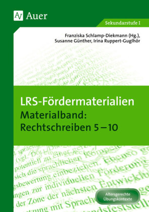Materialband: Rechtschreiben 5-10