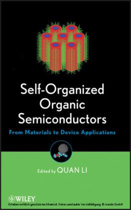 Self-Organized Organic Semiconductors