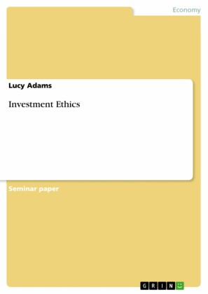 Investment Ethics