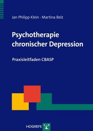 Psychotherapie chronischer Depression