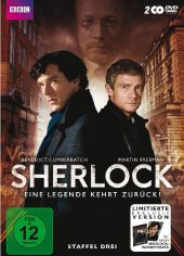 Sherlock, 2 DVDs (Special Edition mit Poster)