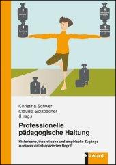 Professionelle pädagogische Haltung Cover