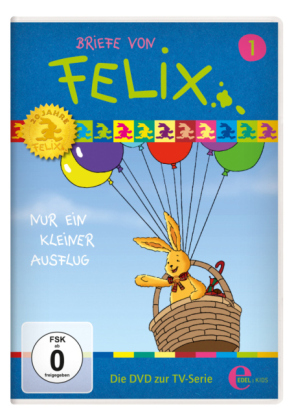 Briefe von Felix, Ein Hase auf Weltreise - Nur ein kleiner Ausflug, 1 DVD