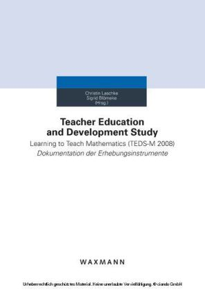 Teacher Education and Development Study