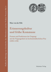 Erinnerungskultur und frühe Kommune