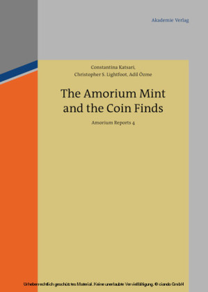 The Amorium Mint and the Coin Finds