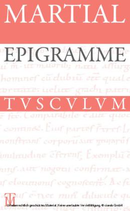 Epigramme. Gesamtausgabe