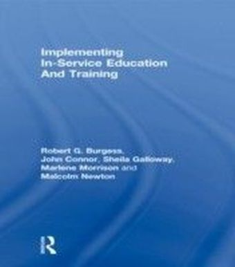 Implementing In-Service Education And Training