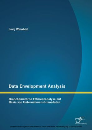 Data Envelopment Analysis - Brancheninterne Effizienzanalyse auf Basis von Unternehmensbilanzdaten