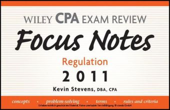 Wiley CPA Examination Review Focus Notes