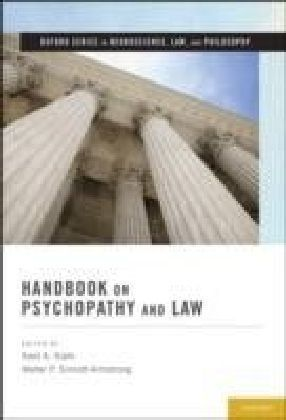 Handbook on Psychopathy and Law