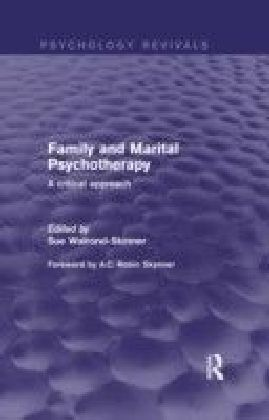 Family and Marital Psychotherapy (Psychology Revivals)