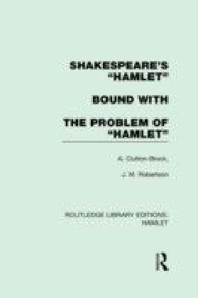 """Shakespeare's """"Hamlet"""" bound with The Problem of """"Hamlet"""""""