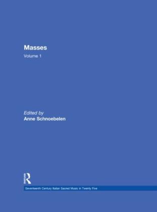 Masses by Gasparo Villani, Alessandro Grandi, Pietro Lappi, and Benivoglio Lev