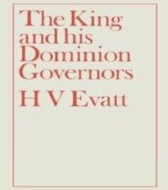 King and His Dominion Governors, 1936