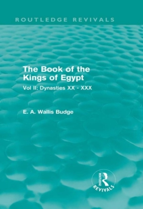 Book of the Kings of Egypt (Routledge Revivals)