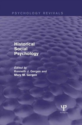 Historical Social Psychology (Psychology Revivals)