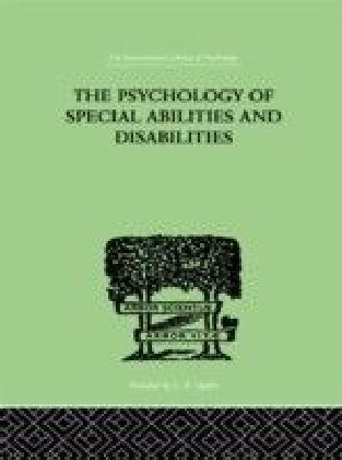 Psychology Of Special Abilities And Disabilities