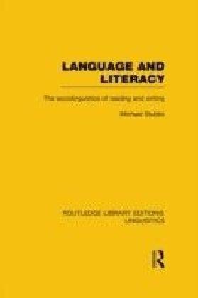 Language and Literacy (RLE Linguistics C: Applied Linguistics)