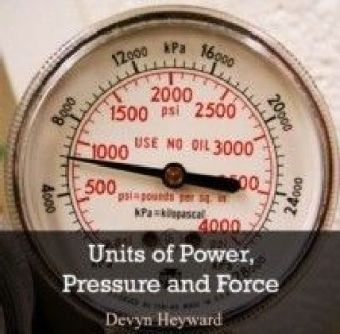 Units of Power, Pressure and Force