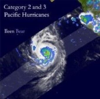 Category 2 and 3 Pacific Hurricanes