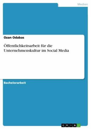 Öffentlichkeitsarbeit für die Unternehmenskultur im Social Media