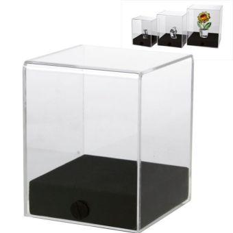 """Acryl-Vitrine """"cube"""" 8 x 8 x 10 cm"""