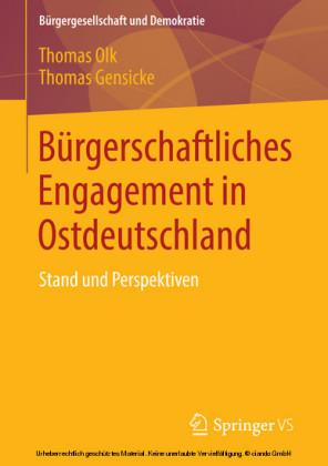Bürgerschaftliches Engagement in Ostdeutschland