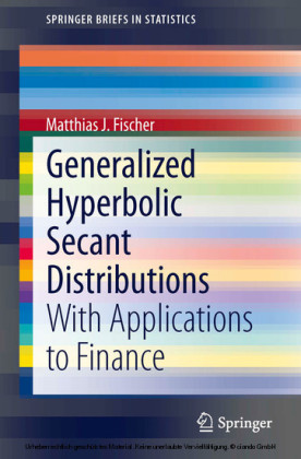 Generalized Hyperbolic Secant Distributions