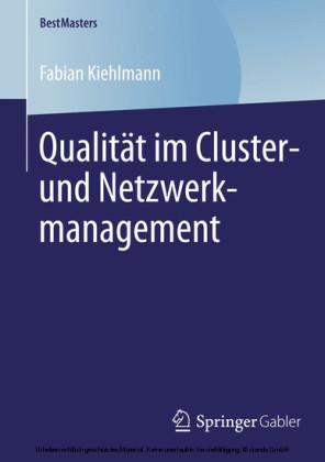 Qualität im Cluster- und Netzwerkmanagement