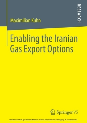 Enabling the Iranian Gas Export Options