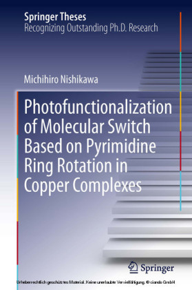 Photofunctionalization of Molecular Switch Based on Pyrimidine Ring Rotation in Copper Complexes