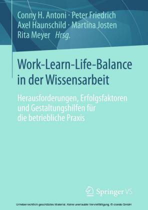 Work-Learn-Life-Balance in der Wissensarbeit