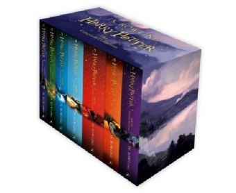 Harry Potter Box Set: The Complete Collection (Children's Paperback), m. Buch, m. Buch, m. Buch, m. Buch, m. Buch,
