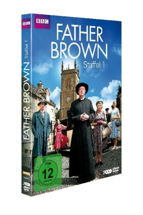 Father Brown, 3 DVDs