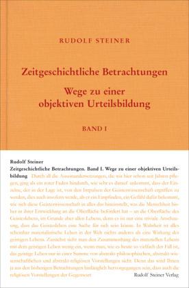 Zeitgeschichtliche Betrachtungen, 3 Bände