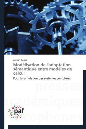 Modélisation de l'adaptation sémantique entre modèles de calcul